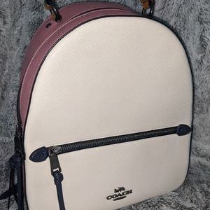 Coach Colorblock Chalk backpack